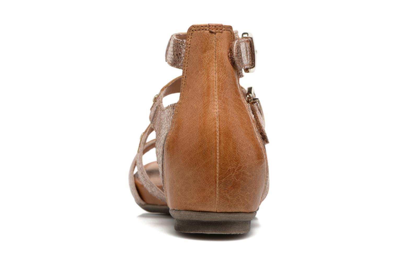 Sandales et nu-pieds Karston Konic Marron vue droite