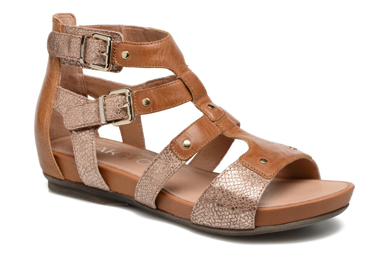 Sandales et nu-pieds Karston Konic Marron vue détail/paire
