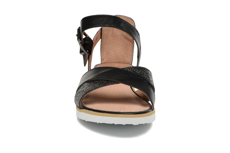 Sandales et nu-pieds Karston Kilian Noir vue portées chaussures
