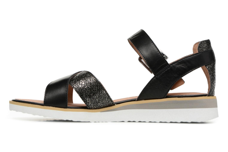 Sandales et nu-pieds Karston Kilian Noir vue face