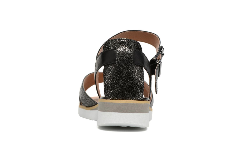 Sandales et nu-pieds Karston Kilian Noir vue droite