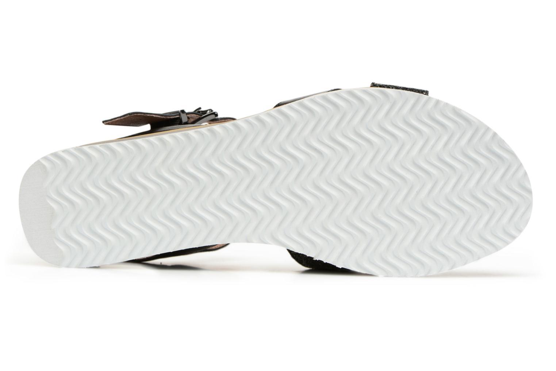 Sandales et nu-pieds Karston Kilian Noir vue haut