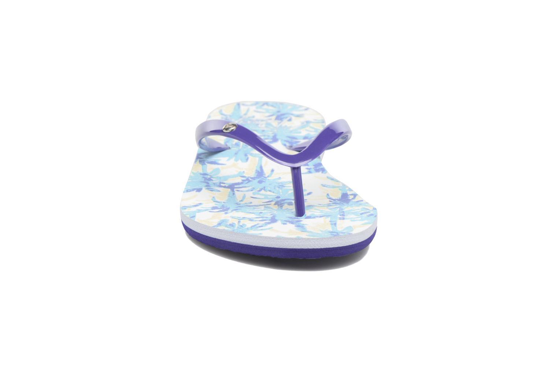 Chanclas Roxy Portofino Azul vista del modelo