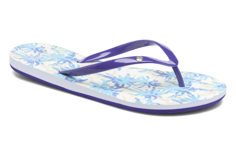 Chanclas Roxy Portofino Azul vista de detalle / par