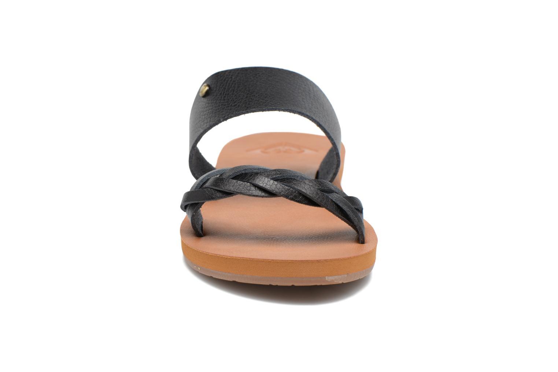 Mules et sabots Roxy Tess Noir vue portées chaussures