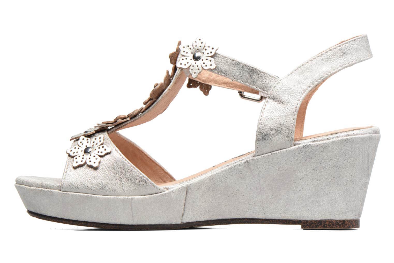 Sandales et nu-pieds Madison Esabela Argent vue face