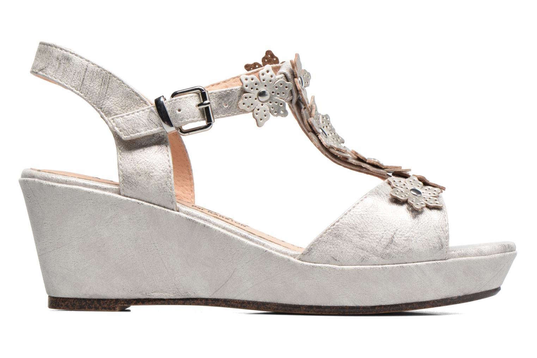 Sandales et nu-pieds Madison Esabela Argent vue derrière