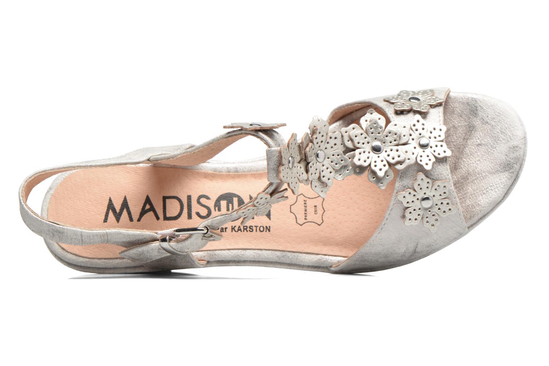 Sandales et nu-pieds Madison Esabela Argent vue gauche