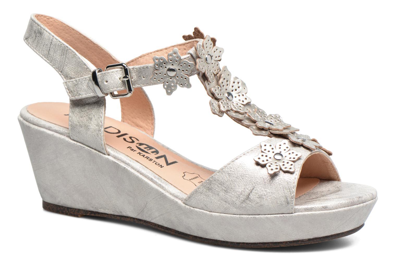 Sandales et nu-pieds Madison Esabela Argent vue détail/paire