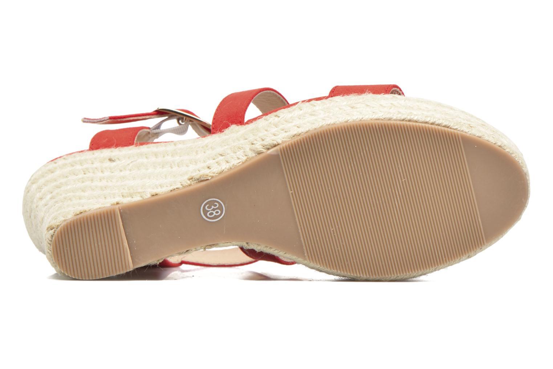 Sandales et nu-pieds I Love Shoes MCJASON Rouge vue haut