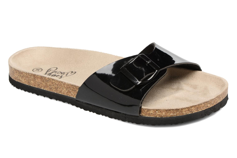 Mules et sabots I Love Shoes MCALER Noir vue détail/paire