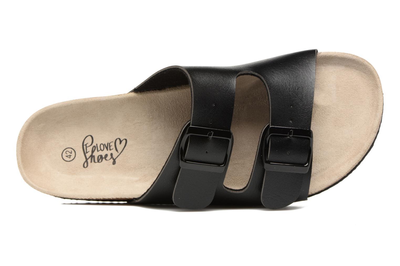 Sandales et nu-pieds I Love Shoes MCerdu Noir vue gauche