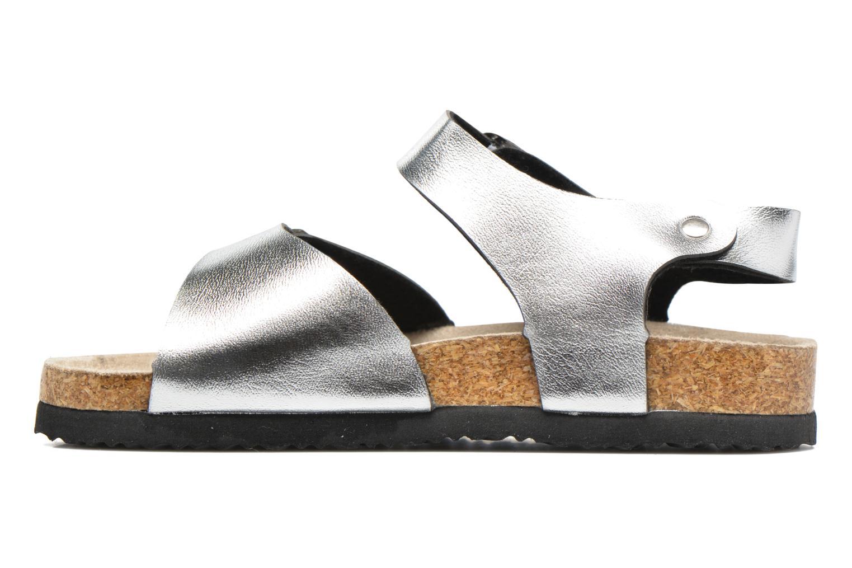 Sandalen I Love Shoes MCGEE silber ansicht von vorne
