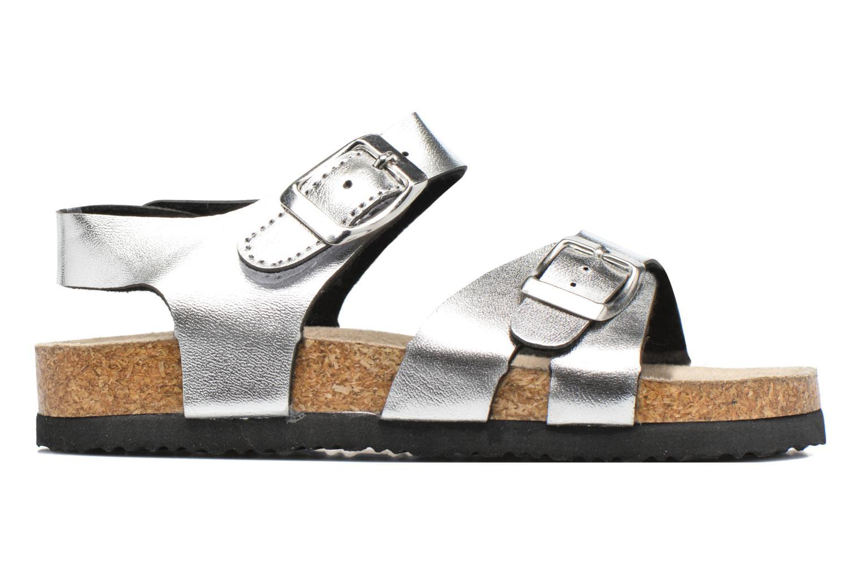 Sandalen I Love Shoes MCGEE silber ansicht von hinten