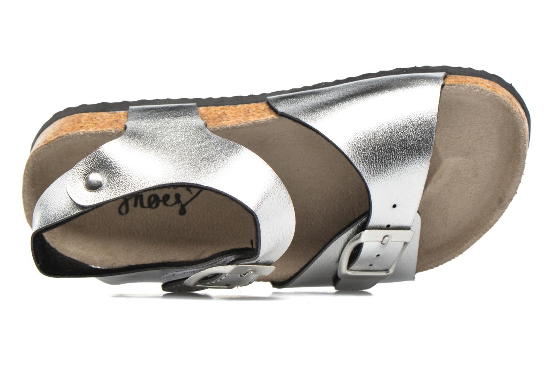 Sandalen I Love Shoes MCGEE silber ansicht von links