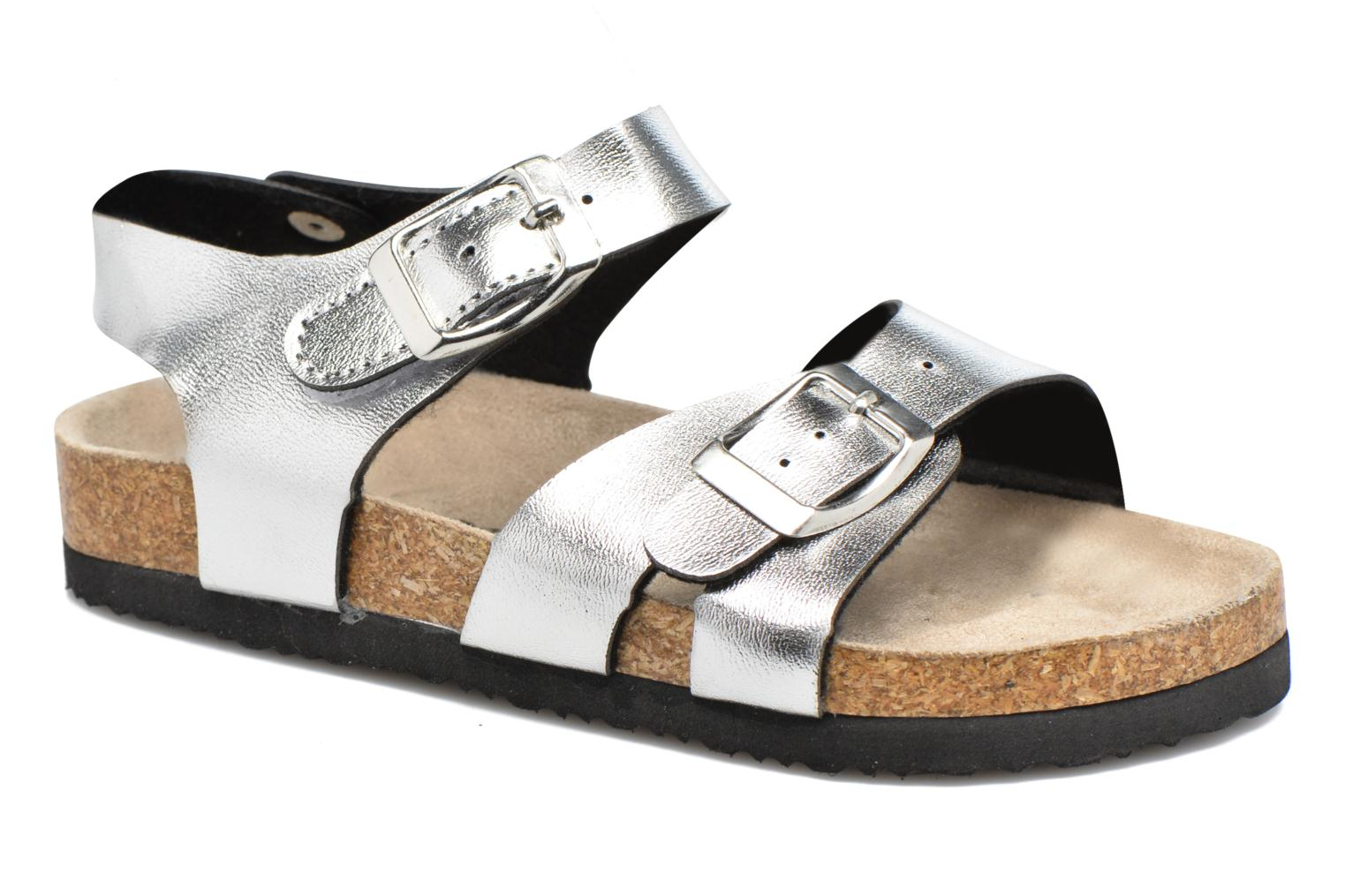 Sandals I Love Shoes MCGEE Silver detailed view/ Pair view