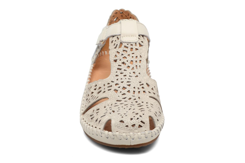 Sandales et nu-pieds Pikolinos P. Vallarta 655-1560 Blanc vue portées chaussures