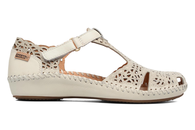 Sandales et nu-pieds Pikolinos P. Vallarta 655-1560 Blanc vue derrière