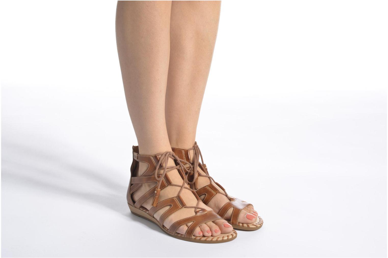Sandales et nu-pieds Pikolinos Alcudia 816-7585 Marron vue bas / vue portée sac