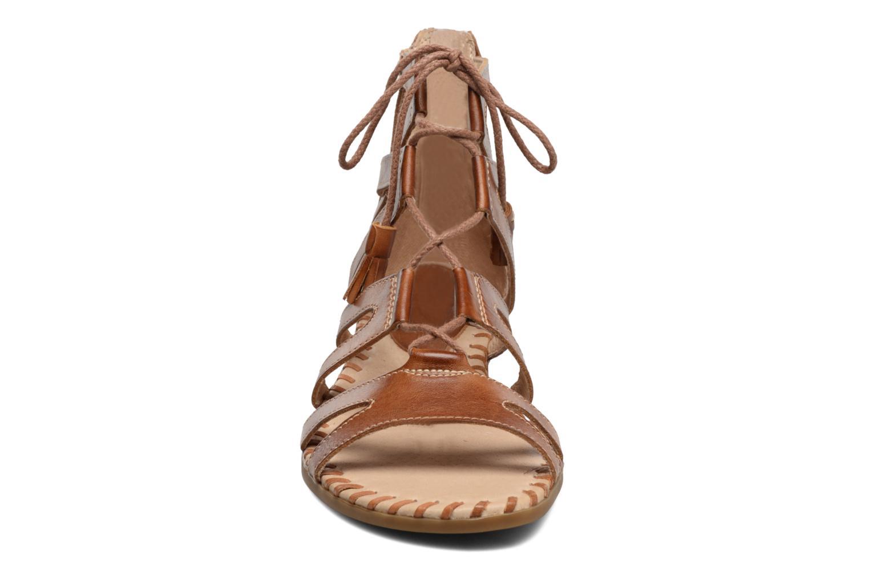 Sandales et nu-pieds Pikolinos Alcudia 816-7585 Marron vue portées chaussures