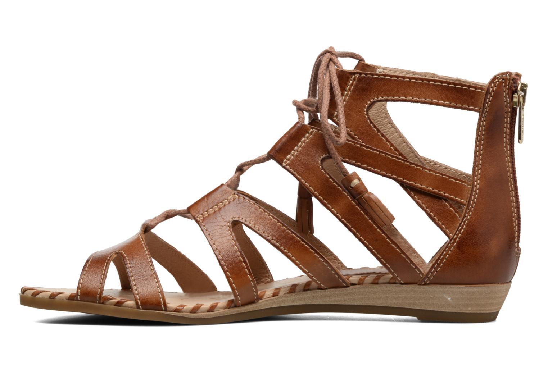 Sandales et nu-pieds Pikolinos Alcudia 816-7585 Marron vue face