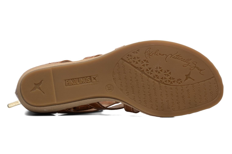Sandales et nu-pieds Pikolinos Alcudia 816-7585 Marron vue haut