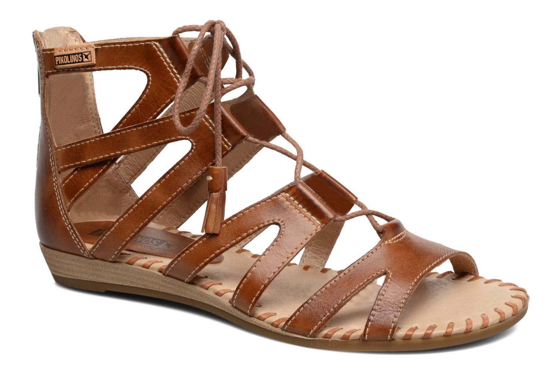 Sandales et nu-pieds Pikolinos Alcudia 816-7585 Marron vue détail/paire