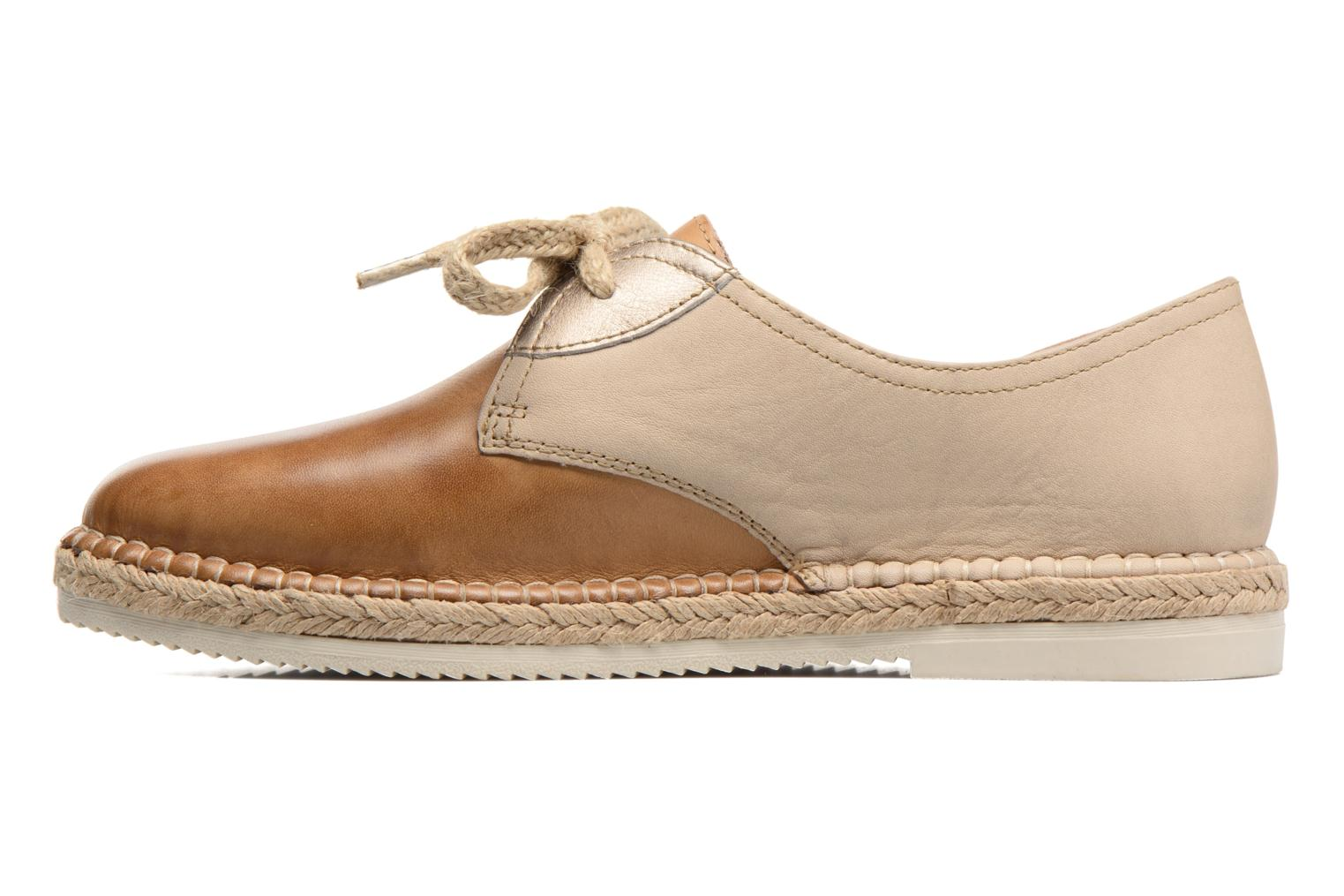 Lace-up shoes Pikolinos Cadamunt W3K-4604 Brown front view