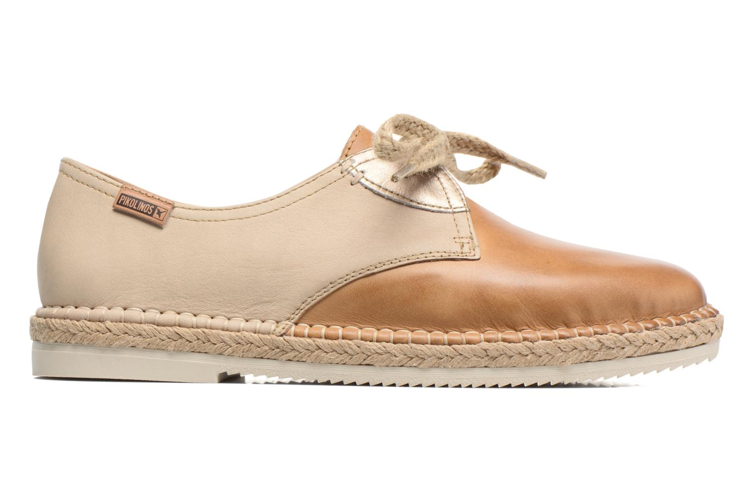 Lace-up shoes Pikolinos Cadamunt W3K-4604 Brown back view