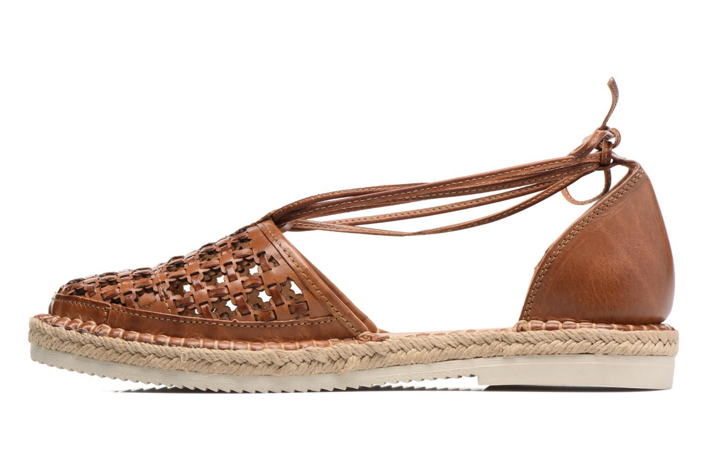 Chaussures à lacets Pikolinos Cadamunt W3K-3631 Marron vue face