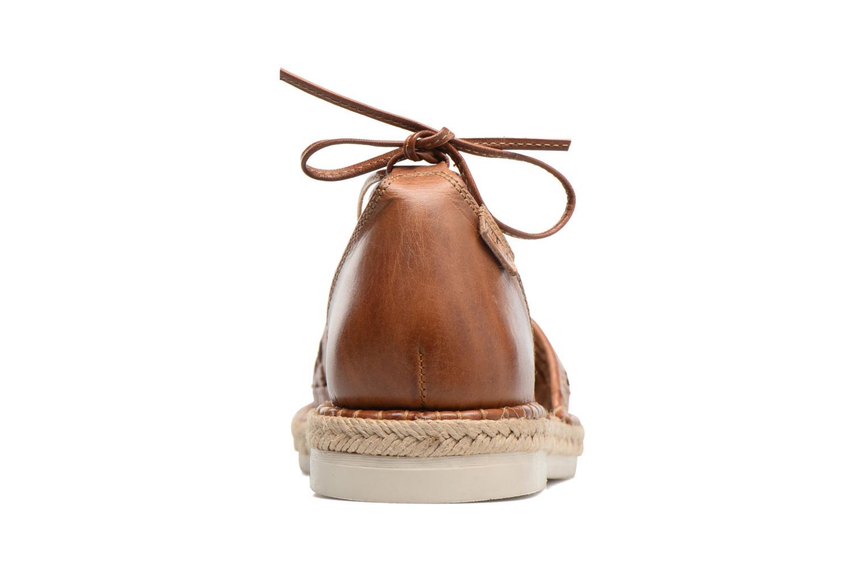 Chaussures à lacets Pikolinos Cadamunt W3K-3631 Marron vue droite