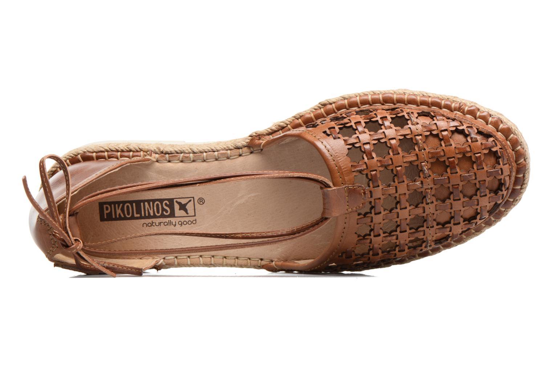Chaussures à lacets Pikolinos Cadamunt W3K-3631 Marron vue gauche