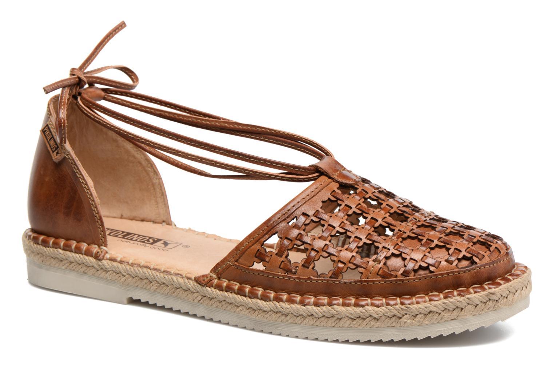 Chaussures à lacets Pikolinos Cadamunt W3K-3631 Marron vue détail/paire