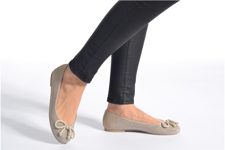 Zapatos promocionales Pretty Ballerinas Rosario Glitter (Beige) - Bailarinas   Casual salvaje