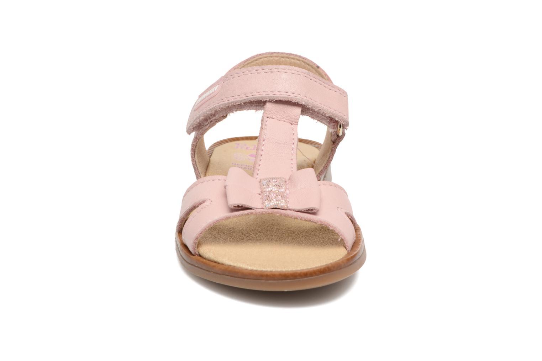 Sandales et nu-pieds Pablosky Betty Rose vue portées chaussures