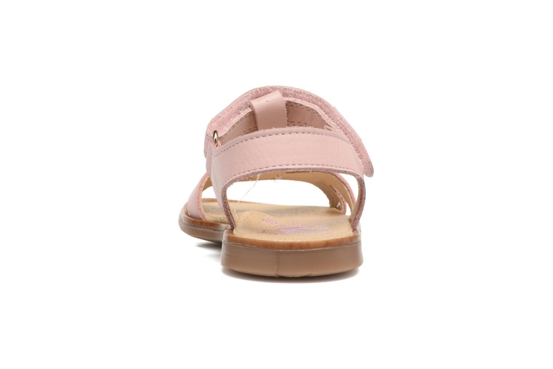 Sandales et nu-pieds Pablosky Betty Rose vue droite