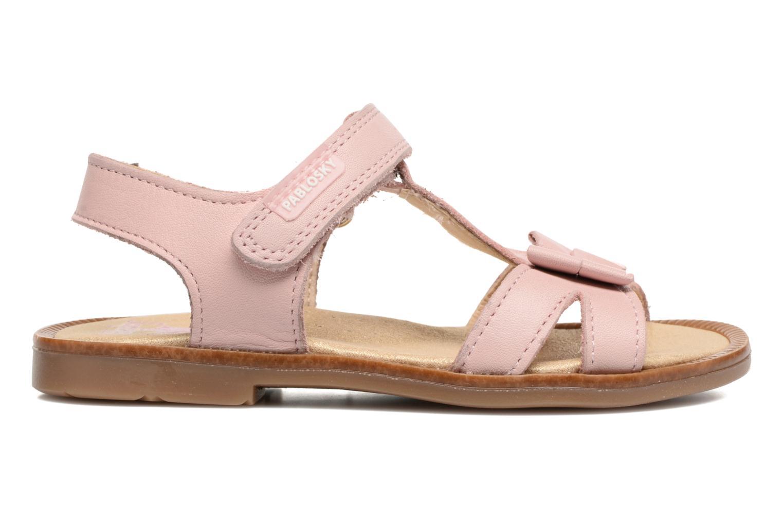 Sandales et nu-pieds Pablosky Betty Rose vue derrière