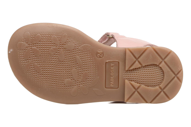 Sandales et nu-pieds Pablosky Betty Rose vue haut