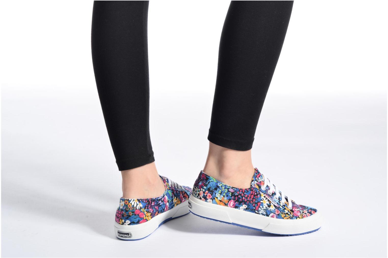Sneakers Superga 2750 Fabric Liberty W Multicolore immagine dal basso