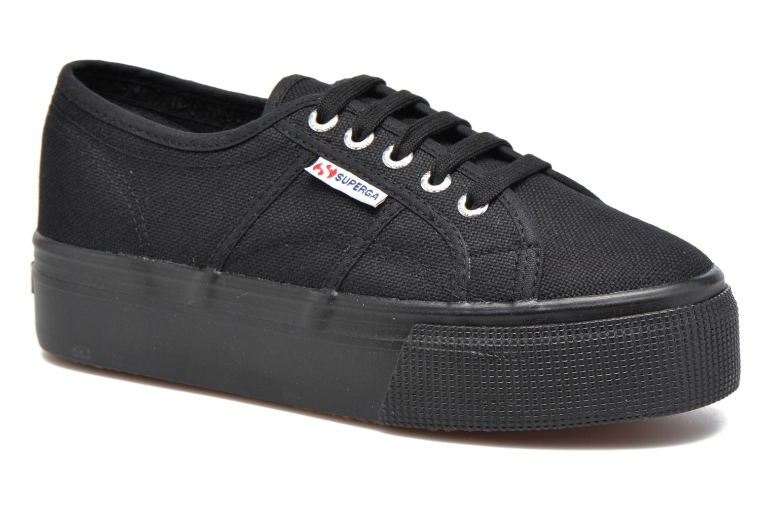 Donna Superga 2790 Cot W Linea Sneakers Nero