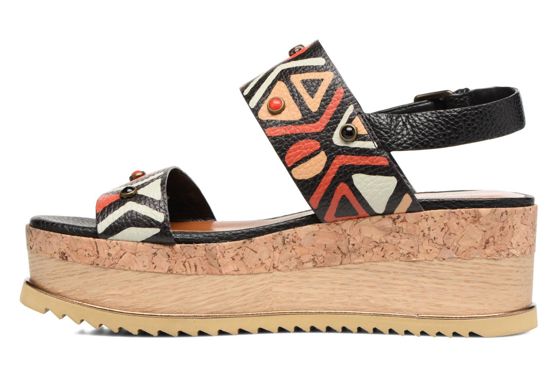 Sandales et nu-pieds Bruno Premi Bamaco Multicolore vue face