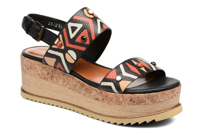 Sandales et nu-pieds Bruno Premi Bamaco Multicolore vue détail/paire