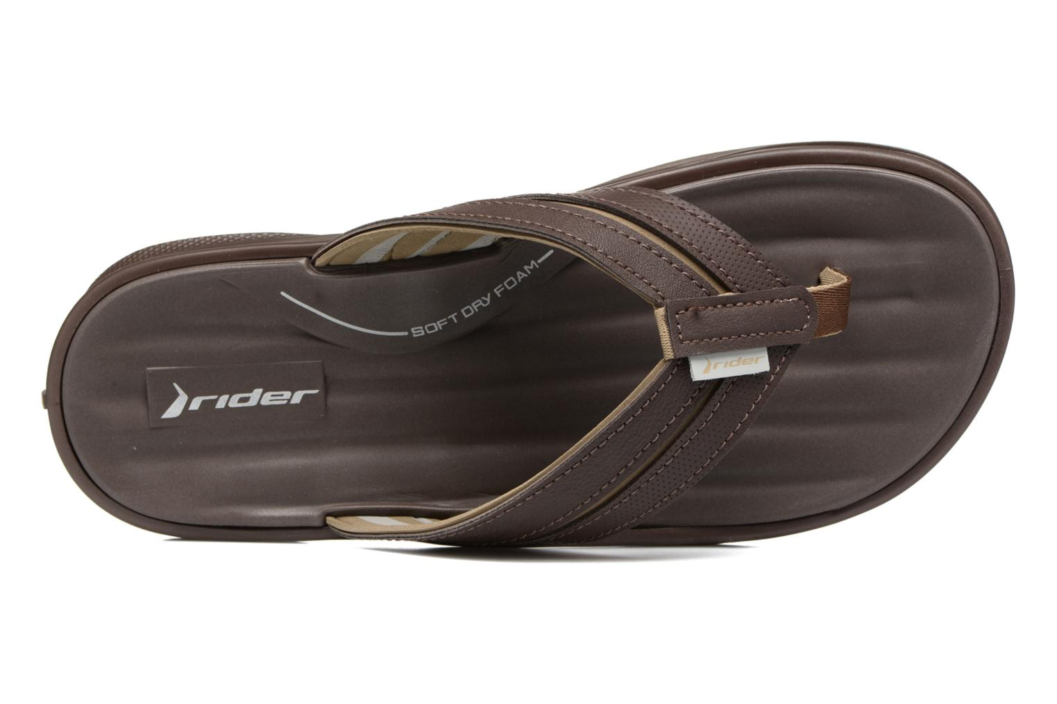 Flip flops Rider Ventor II thong AD Brown view from the left
