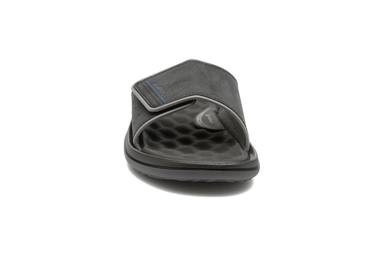 Sandales et nu-pieds Rider Dunas evolution slide Noir vue portées chaussures