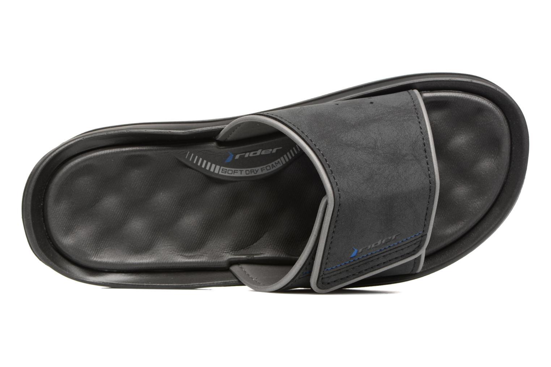 Sandales et nu-pieds Rider Dunas evolution slide Noir vue gauche