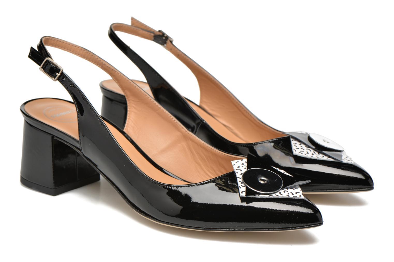 High heels Made by SARENZA Donut hut #8 Black back view