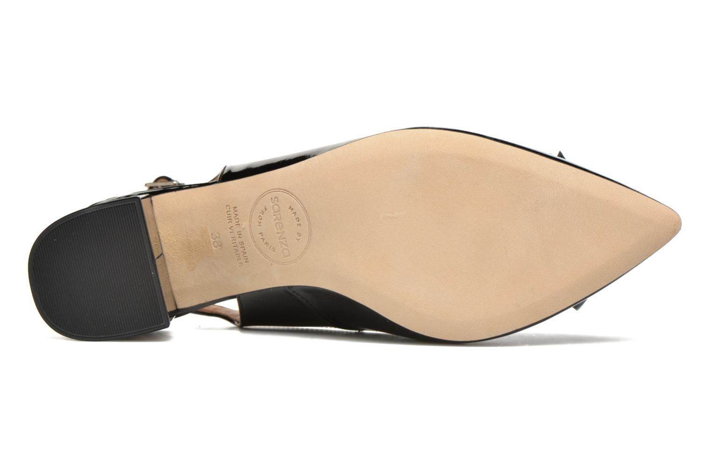 Zapatos de tacón Made by SARENZA Donut hut #8 Negro vista de arriba