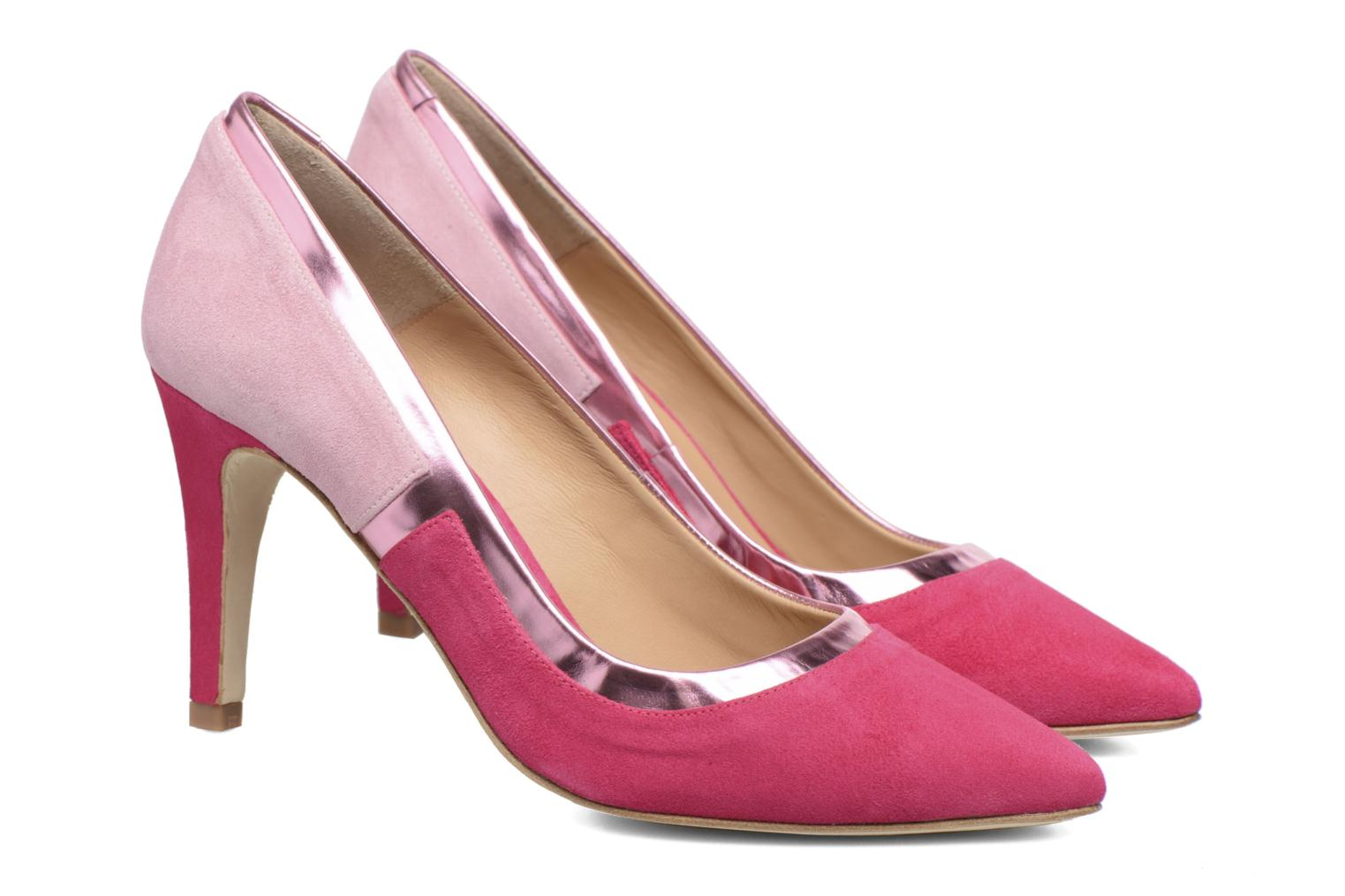 Pumps Made by SARENZA Snow Disco #1 Roze achterkant