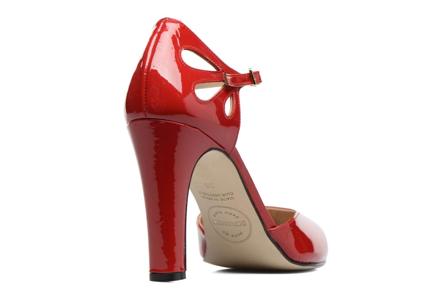 Pumps Made by SARENZA Rock-a-hula #5 Rood voorkant