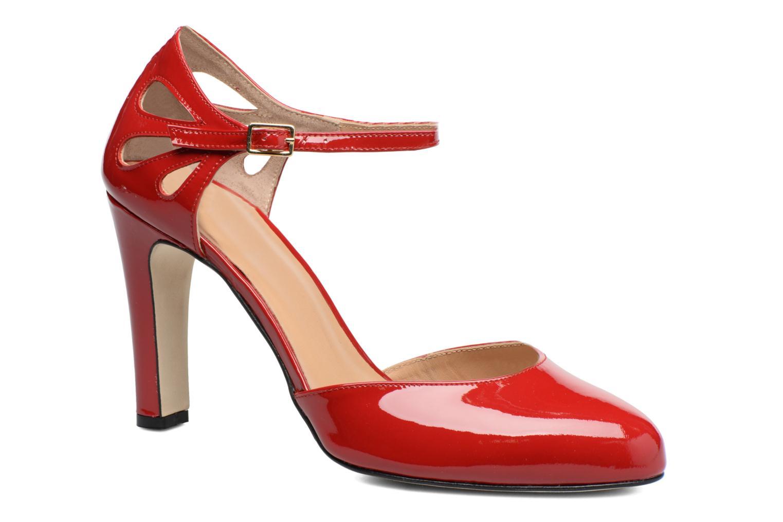 Escarpins Made by SARENZA Rock-a-hula #5 Rouge vue droite